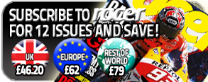 Subscribe to Racer for 12 Issues and Save!